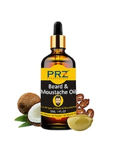 PRZ Premium Quality Beard & Moustache Oil For Men (30ml) - By