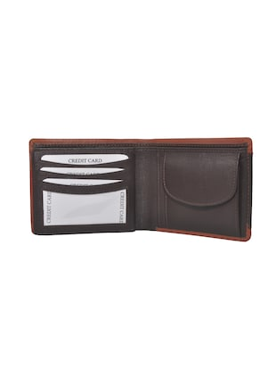 brown leather wallet - 14846144 - Standard Image - 3