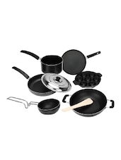 7 Pieces Non-Stick Cookware Gift Set, Black -  online shopping for Cookware Sets