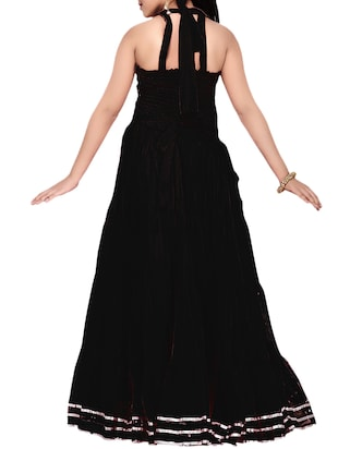 black net party gown - 14873343 - Standard Image - 3