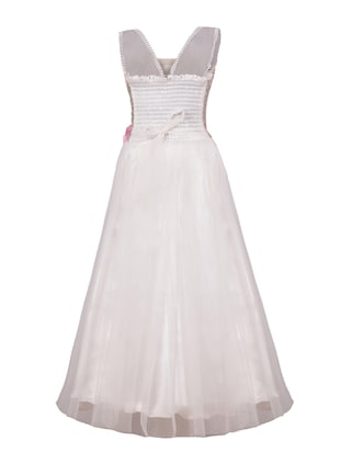 white net party gown - 14885041 - Standard Image - 3