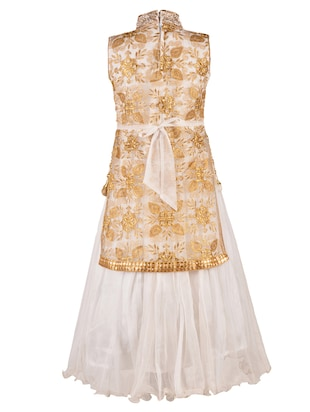 white net party gown - 14885048 - Standard Image - 3