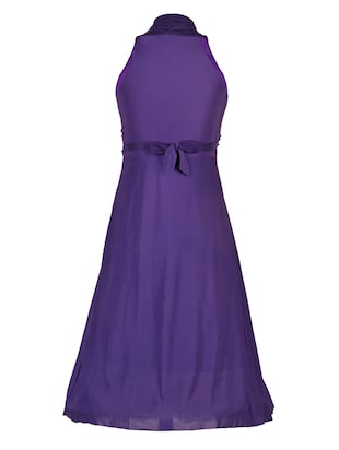 purple net party gown - 14885067 - Standard Image - 3
