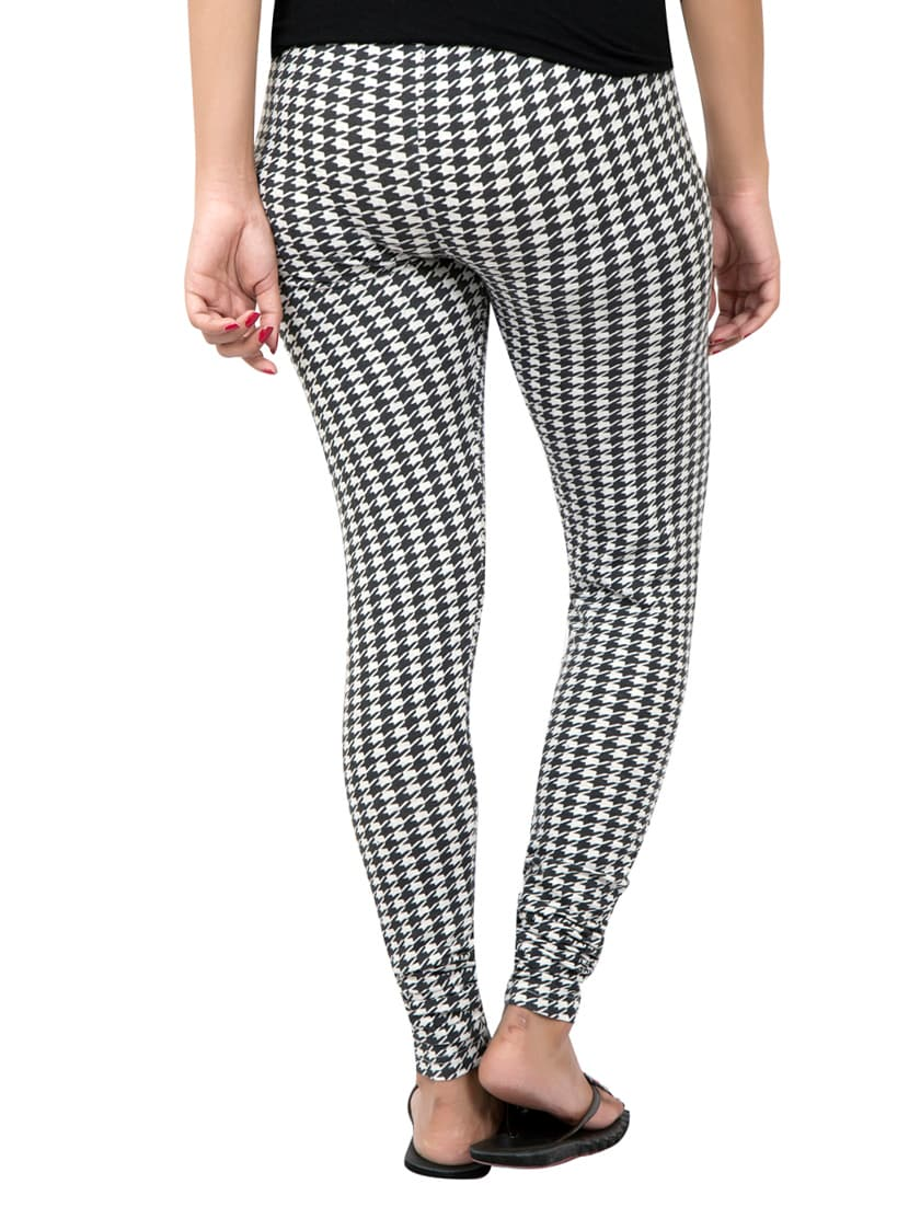 6a20f2664f7f1d ... multi colored houndstooth print leggings - 14888428 - Zoom Image - 3