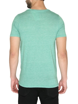 green cotton t-shirt - 14888903 - Standard Image - 3