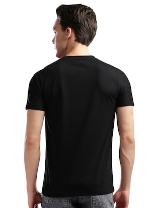 monochrome cotton  t-shirt - 14890633 - Standard Image - 3