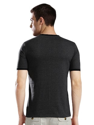 grey cotton t-shirt - 14890637 - Standard Image - 3