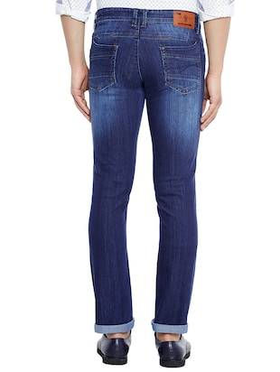blue denim washed jeans - 14896144 - Standard Image - 3