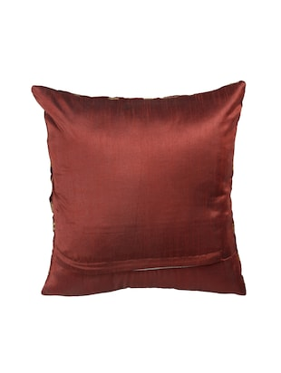 Red Set of 5 Cushion Covers - 14898868 - Standard Image - 3