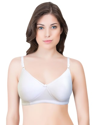 set of 3 multi colored cotton bra - 14899547 - Standard Image - 6