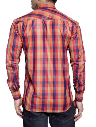 multi cotton casual shirt - 14899942 - Standard Image - 3