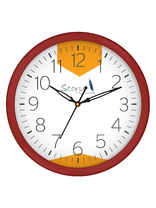 Glass Round Shape Wall Clock - 14901830 - Standard Image - 3