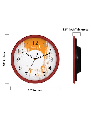 Glass Round Shape Wall Clock - 14901834 - Standard Image - 6
