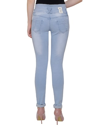 light blue denim jeans - 14901861 - Standard Image - 3