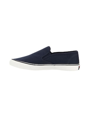 navy Canvas casual slipon - 14903290 - Standard Image - 3