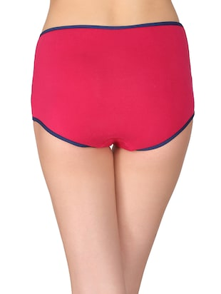 pink cotton hipster panty - 14911322 - Standard Image - 3
