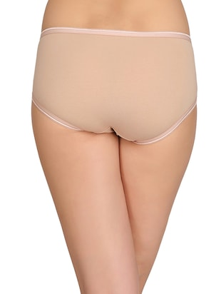 beige cotton hipster panty - 14911335 - Standard Image - 3