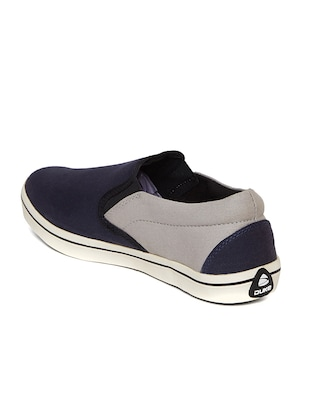 navy Canvas casual slipon - 14912587 - Standard Image - 3