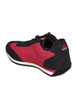 red leatherette sport shoe - 14912637 - Standard Image - 3