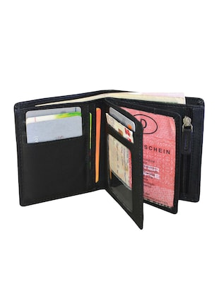 black leather wallet - 14920237 - Standard Image - 3