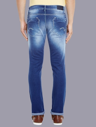 blue denim washed jeans - 14920942 - Standard Image - 3