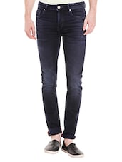 blue denim washed jeans -  online shopping for Jeans