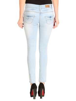 Distressed low rise jeans - 14966660 - Standard Image - 3