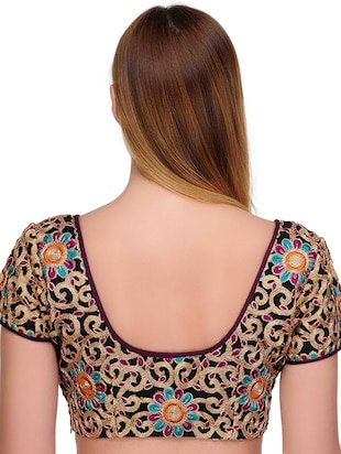 Fuchsia Designs multi colored embroidered blouse - 14999484 - Standard Image - 3