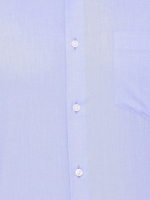 blue cotton formal shirt - 15007177 - Standard Image - 3