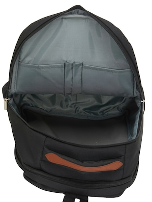 black canvas backpack - 15013361 - Standard Image - 3