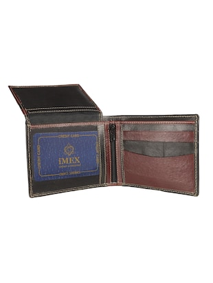 black leather wallet - 15019164 - Standard Image - 3