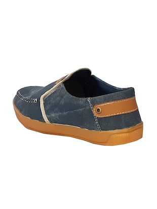 blue Denim casual slipon - 15019486 - Standard Image - 3