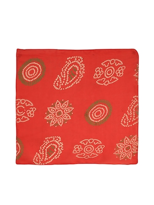 red silk pocketsquare - 15023994 - Standard Image - 3