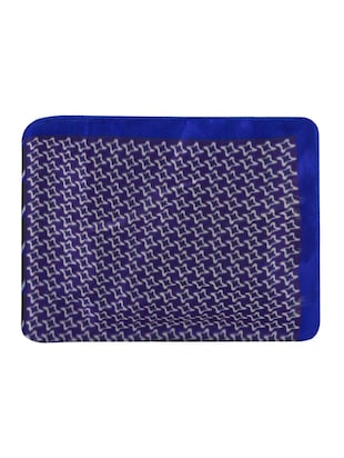 blue polyester pocketsquare - 15024023 - Standard Image - 6