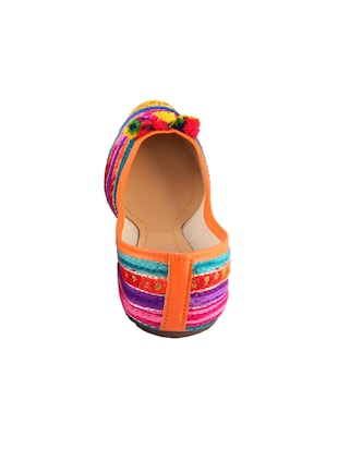 multi colored slip on jutis - 15024650 - Standard Image - 3