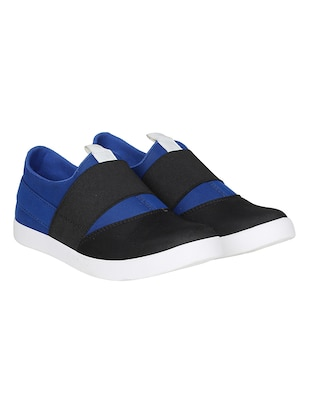 blue Canvas casual slipon - 15025474 - Standard Image - 3