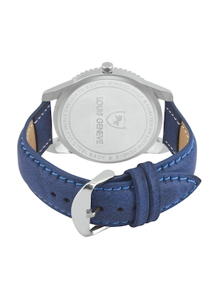 LOUIS GENEVE Black Dial Watch For Men - LG-MW-51-BLUE-203 - 15025594 - Standard Image - 3
