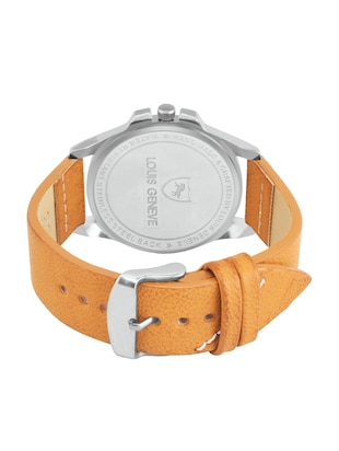 LOUIS GENEVE White Dial Watch For Men - LG-MW-W-BROWN-213 - 15025604 - Standard Image - 3