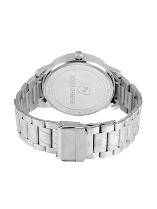 LOUIS GENEVE White Dial Watch For Men - LG-MW-SS-WHITE-220 - 15025772 - Standard Image - 3