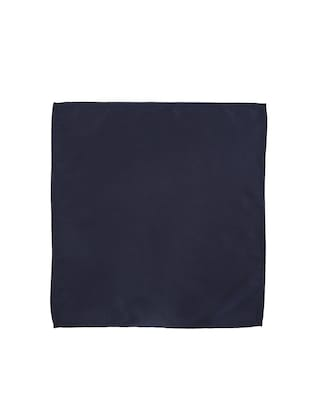 navy blue polyester pocketsquare - 15025992 - Standard Image - 3