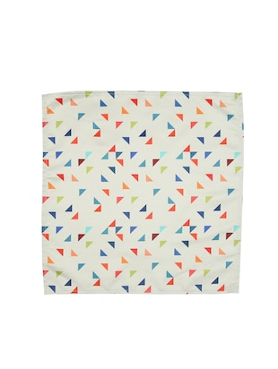 white polyester pocketsquare - 15025999 - Standard Image - 3