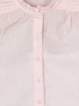 pink cotton  top - 15026355 - Standard Image - 3