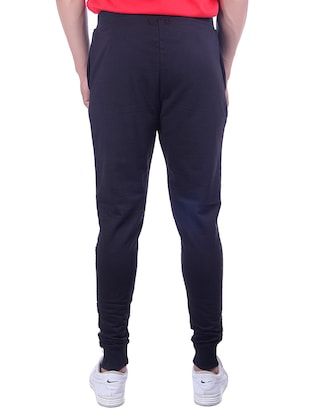 navy blue cotton jogger - 15028205 - Standard Image - 3