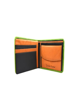black & tan leather wallet - 15028645 - Standard Image - 3