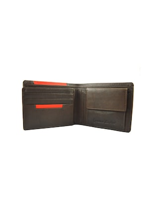 brown & red leather wallet - 15030490 - Standard Image - 3