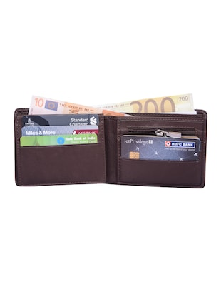 brown leather wallet - 15030999 - Standard Image - 3
