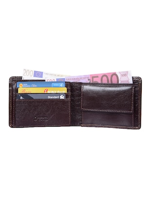 brown leather wallet - 15031007 - Standard Image - 3