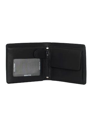 black leather wallet - 15031018 - Standard Image - 3