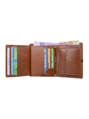 brown leather wallet - 15031020 - Standard Image - 3