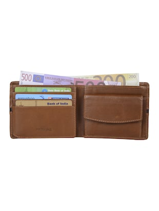 brown leather wallet - 15031022 - Standard Image - 3